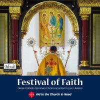 HAVPCD373 - Festival of Faith Greek Catholic Seminary Choirs recorded in Lviv, Ukraine