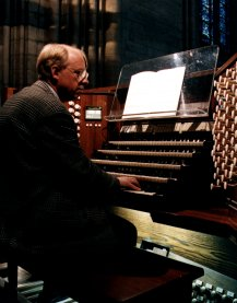 Philippe Lefebvre sat at the Notre Dame Organ